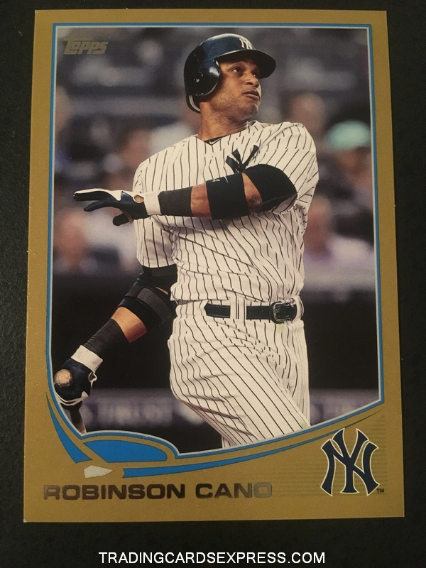 Robinson Cano Yankees 2013 Topps Gold 612 1550 2013 Front